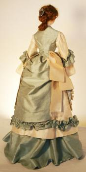 Click to enlarge image  - Lady Marion Mold Set - 1876 Visiting Dress