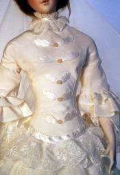 Click to enlarge image  - Lady Marion Mold Set - 1853 Grandmother's Wedding Dress