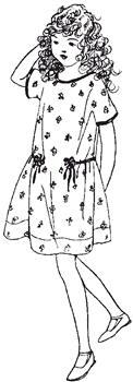 Click to enlarge image 1920s Dress - Pattern 102