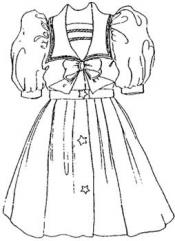 Click to enlarge image Sailor Dress - Pattern 11