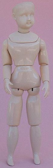 Click to enlarge image French Fashion Body for 11 1/2 inch Dolls -