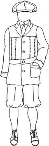 Click to enlarge image Norfolk Jacket and Knickerbockers - Pattern 15