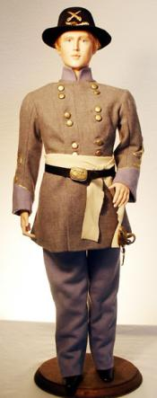 Click to enlarge image Civil War Uniform with Frock Coat - Pattern 80